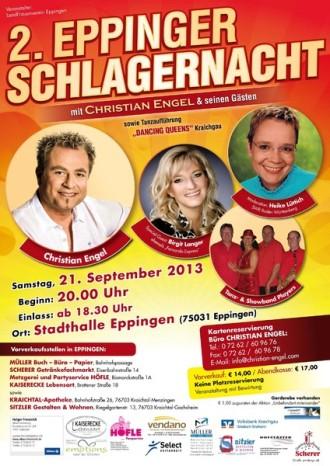 2. Eppinger Schlagernacht 2013