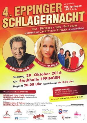 3. Eppinger Schlagernacht 2014
