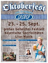 Plakat -  Flehinger Oktoberfest 2015