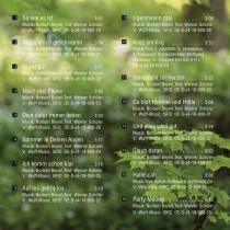 "CD-Album ""Mach mal Pause"" - Titelfolge"