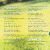 "CD-Album ""Noch einmal 25"" - Titelfolge"